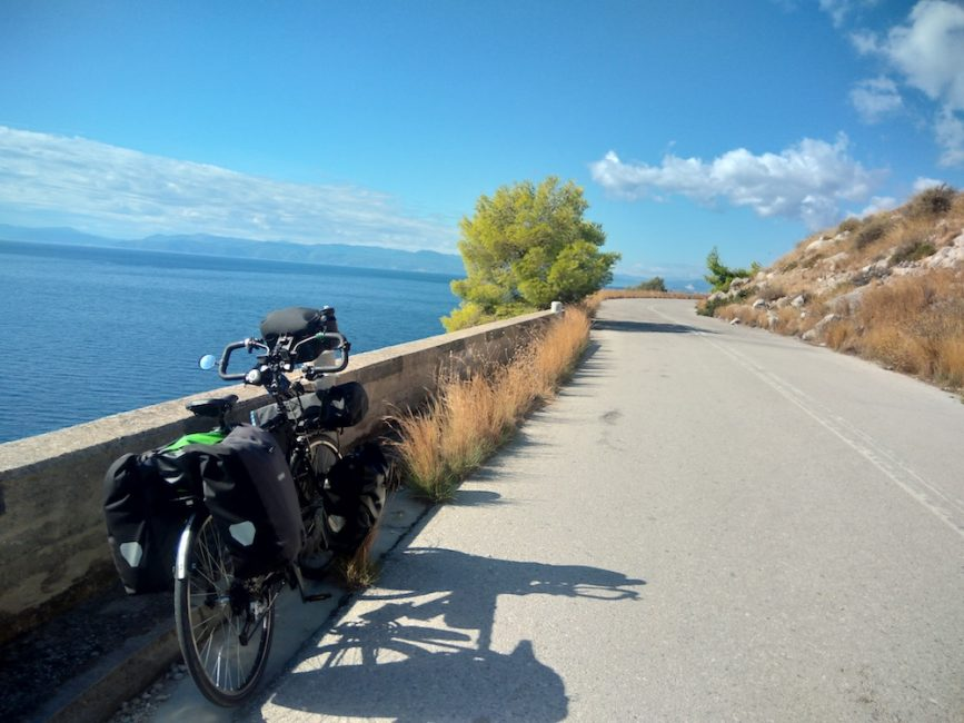 Bicycle Touring in Greece in October 2019