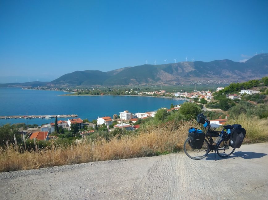 Bicycle Touring In Greece