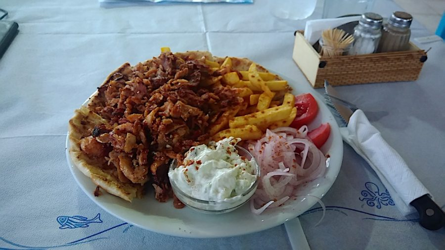 Typical food in Greece