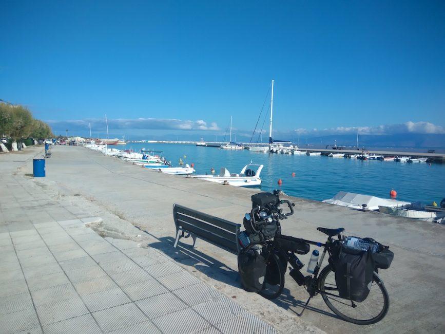 Bicycle Touring the Greek coastline