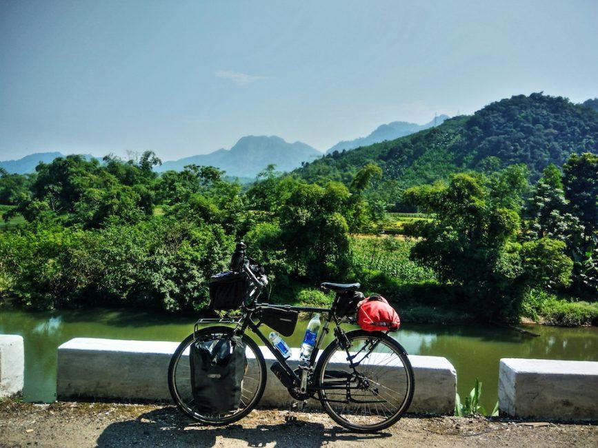 Cycling North of Hanoi, Vietnam