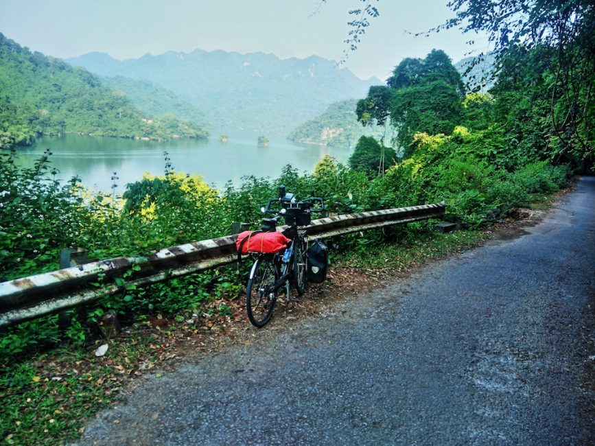 Cycling to Ba Be Lake, Northern Vietnam