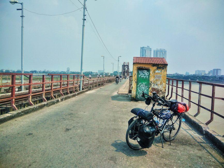 Cycling back into Hanoi