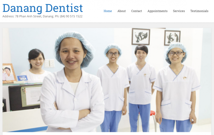 Danang Dentist Website
