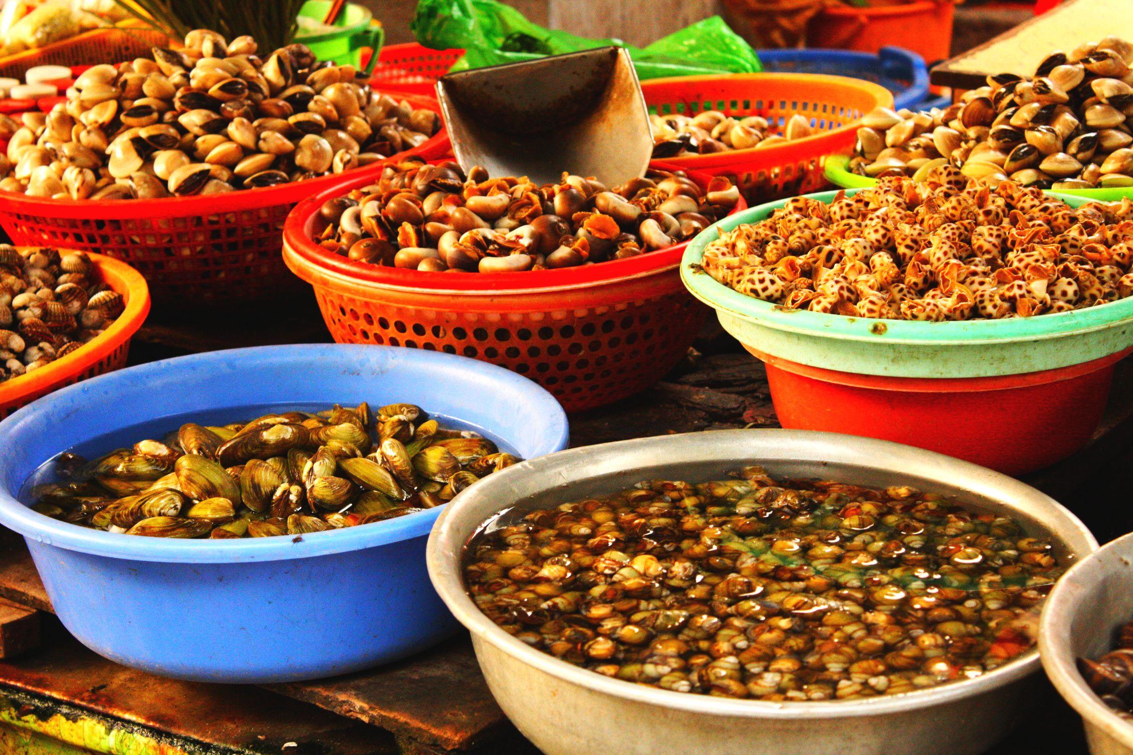 Fresh Seafood Vietnamese Market 02