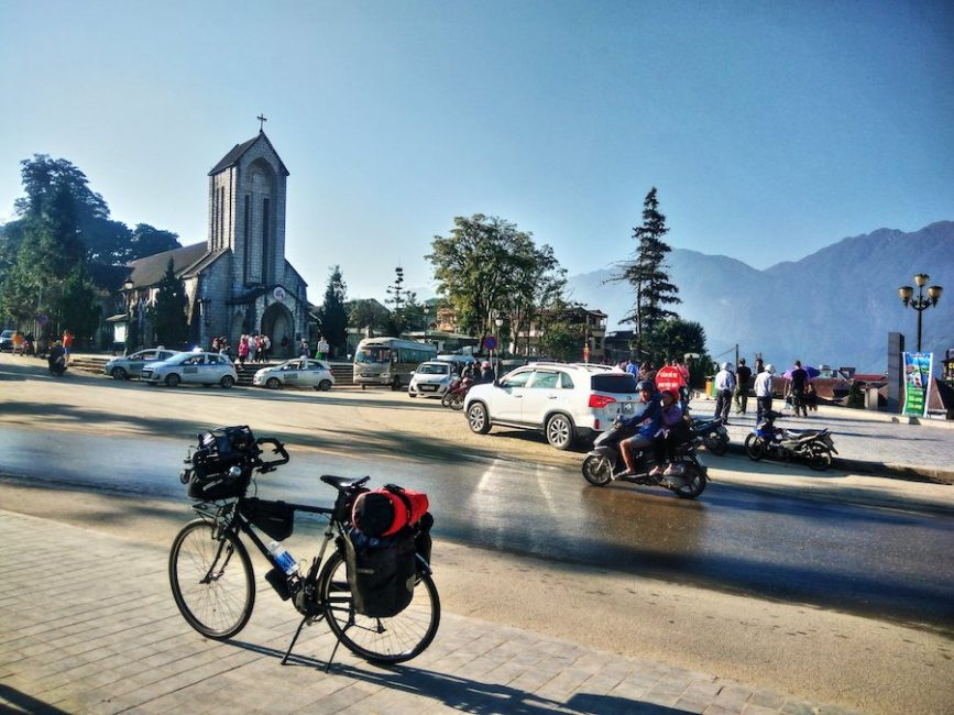 Bicycle Touring in Sa Pa, Vietnam